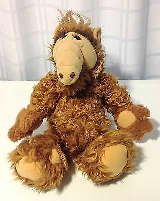 "Vintage 1986 18"" ALF Coleco Alien Life Form Plush Stuffed Animal Melmac"