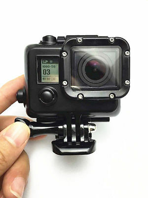 Underwater Diving Waterproof Hard Housing Full cover Case For GoPro HD Hero3 Blk