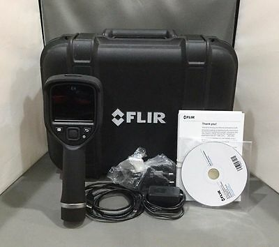 FLIR E4 63901-01 Compact Thermal Imaging Camera w/ 80x60 IR Resolution & MSX