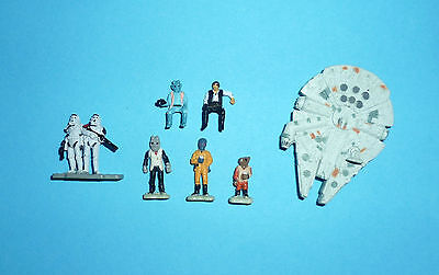 STAR WARS Micro Machines - C3PO/CANTINA PLAYSET FIGURES LOT - Tatooine Han Solo