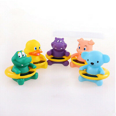 Bath Toy Cartoon Shape  New Thermometer Water Temperature Infant Tester  Cute