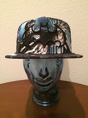 DC Comics Original Snapback Adjustable Batman Gotham City Adult Hat NWT
