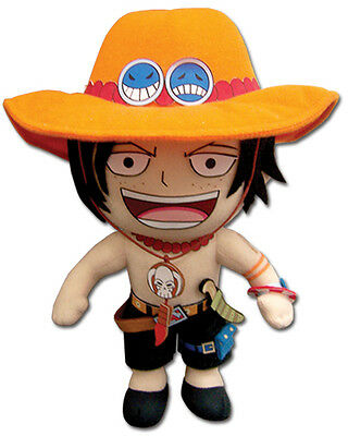 One Piece Portgas D. Ace Plush Doll Anime Licensed NEW