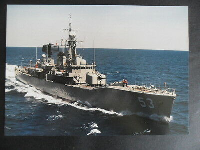 Naval HMAS TORRENS (DE53) Welcome Aboard (flimsy) 1990's