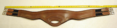DEL GARDA SELLIER anatomical shaped girth NEW 44 46 48 brown Beval