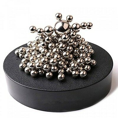 ZMI Magnetic Sculpture Desk Toy with Stainless Steel Ball Stress Relief Office