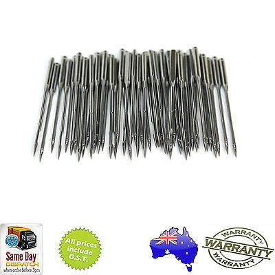 10 x SEWING MACHINE NEEDLE - HA x1 For Singer, Brother, Janome, Elna - Universal