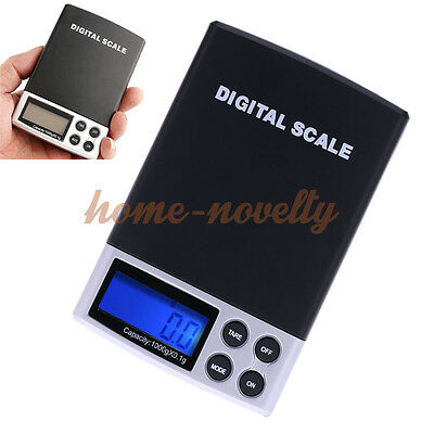0.1g/1000g Digital LCD Electronic Accurate Weight Gold Jewelry Pocket Gram Scale