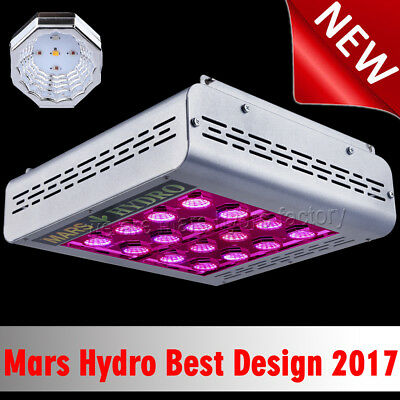 Newest Mars Pro II Epistar 80 LED Grow Light Hydro Best For Veg Flower Plant Kit