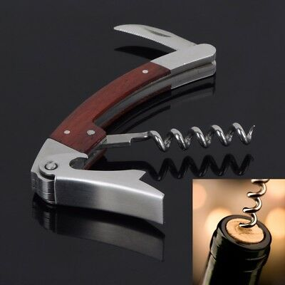 Solid Wood Stainless steel Wine Blade Wine Opener Hippocampus Wine-Bottle Opener