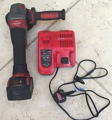 MILWAUKEE battery - angle grinder M18 5,0 Ah M18 CAG115XPDB And Charger