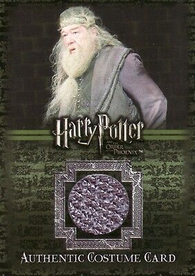 Harry Potter Order of the Phoenix Albus Dumbledore's C12 Costume Card