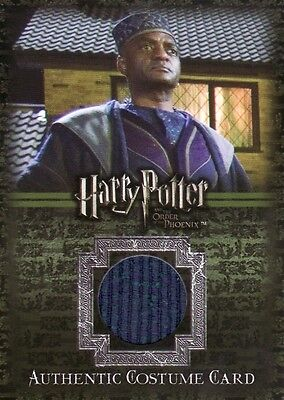 Harry Potter Order of the Phoenix Kingsley Shacklebolt's C11 Costume Card
