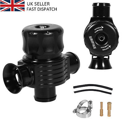 25Mm Dual Port Turbo Bov Diverter Recirculating Dump Blow Off Valve Free Deliver