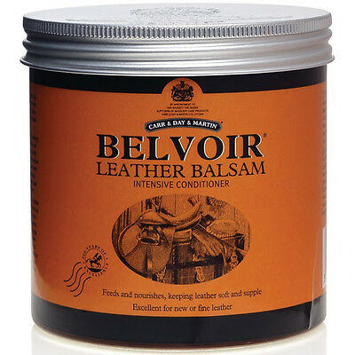 CARR DAY & MARTIN BELVOIR LEATHER BALSAM CONDITIONER (500ml) Free P&P