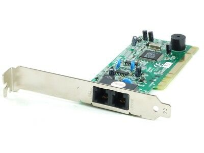 I56PSP-T30B 2x RJ11 Line Phone Modem Data Card Fax Card Chip PCTel 100-06012-4
