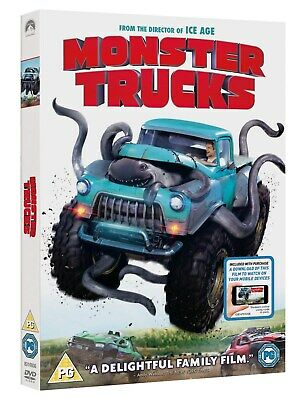 Monster Trucks (with Digital Download) [DVD]