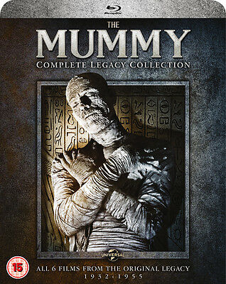 The Mummy: Complete Legacy Collection (Box Set) [Blu-ray]