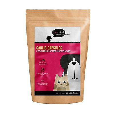 Petrition - Garlic 2mg for Dogs & Cats - 90 Capsules