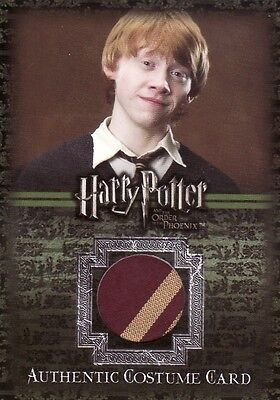 Harry Potter Order of the Phoenix Update Ron Weasley's C6 Tie Costume Card