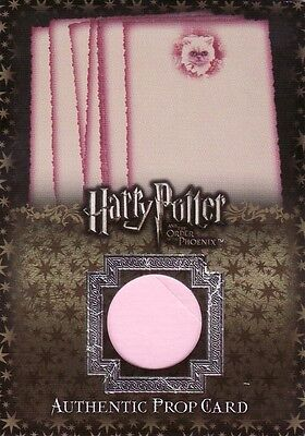Harry Potter Order of the Phoenix Update Office Stationary P6 Prop Card