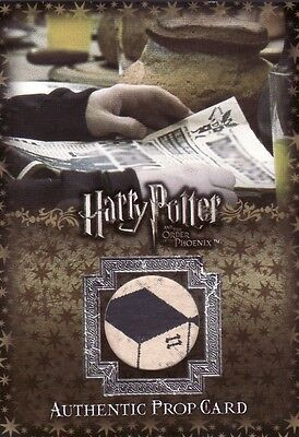 Harry Potter Order of the Phoenix Update Daily Prophet P3 Prop Card