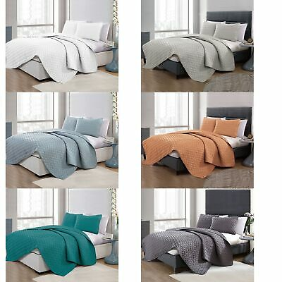 3 Piece Chic Embossed Comforter Set by Ramesses - QUEEN KING