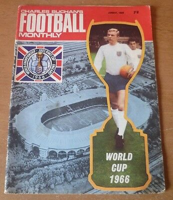 Charles Buchan's Football Monthly Magazine, August 1966 (World Cup).