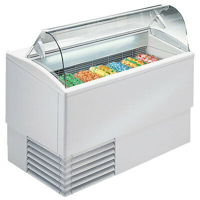 Commercial Deluxe Gelato Dipping Cabinet [PGC-7]