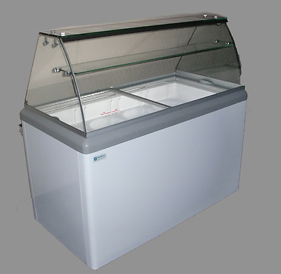 Commercial Ice Cream Dipping Cabinet, w/LED [HBD-12]