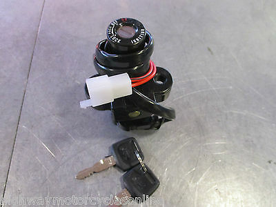 Honda Xr 125 L Replacement Ignition Key Switch 2 X Keys 2 Wire