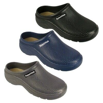 Mens Camouflage Clogs Work Garden Kitchen Hospital Mules Slip On Beach Sandal