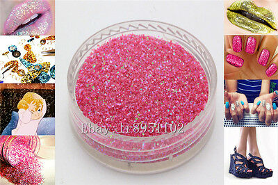 Warm Red 10g Nail Art GLITTER Sequins crafts DIY makeup Powder Crystals 1 Pack