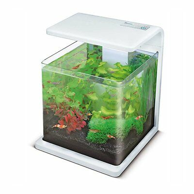 Superfish Wave 15 Aquarium Fish Tank White 15L