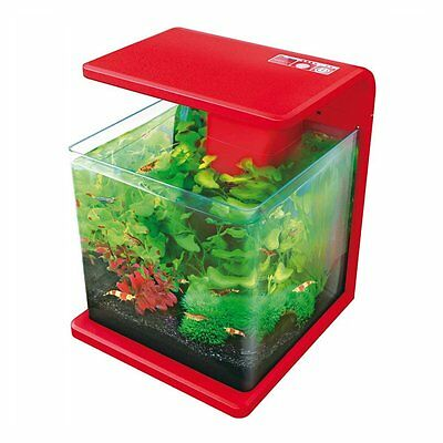 Superfish Wave 15 Aquarium Fish Tank Red 15L
