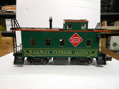 Aristocraft G-Scale Long Steel Caboose-REA 42105 Limited Edition #0489