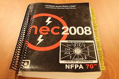 2008 NEC NFPA 70 National Electrical code w/ EZ Tabbed