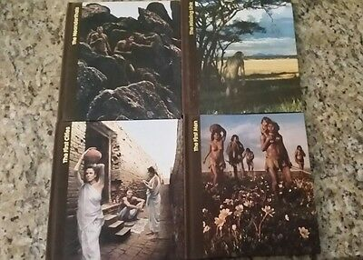 TIME LIFE BOOKS - THE EMERGENCE OF MAN  (Lot of 4) HARDCOVER 1972 Missing Link