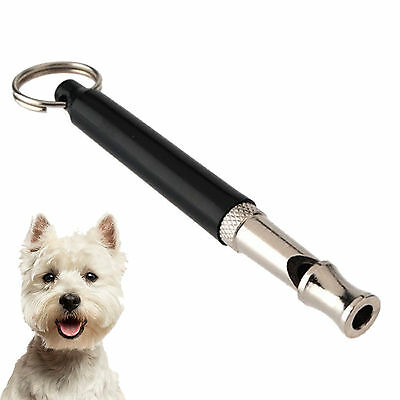 Pet Dog Puppy Training Whistle Adjustable Pitch Obedience Stop Barking
