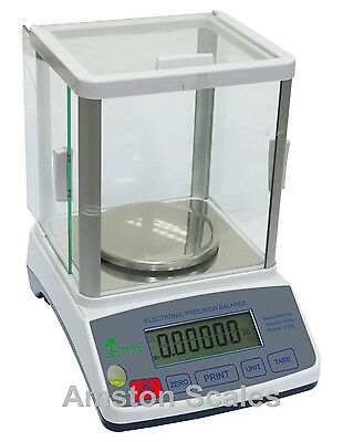 100 x 0.001 GRAM 1 MG DIGITAL SCALE BALANCE LAB ANALYTICAL PHARMACY LABORATORY