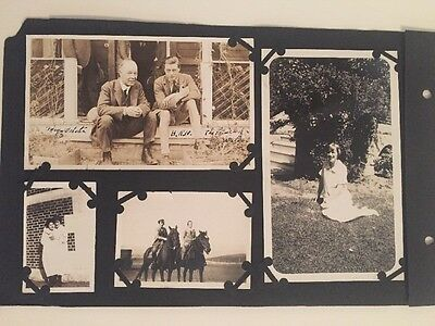 Vtg PRIVATE PHOTOS PRINCE OF WALES KING EDWARD VIII Horse Ranch Canada Antique
