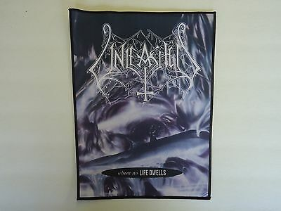 Unleashed Where No Life Dwells Sublimated Back Patch
