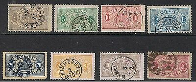 Sweden 1874 - 95 Revenue Stamps