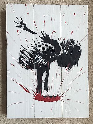 Grafter Original 'SPLASH' On Wood Edition Of Only 10