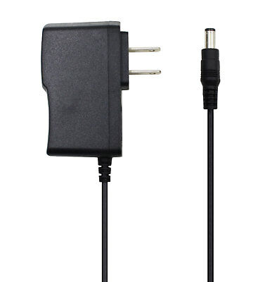 9V 1A AC/DC Adapter Power Supply Cord Charger 5.5mm*2.1mm Plug Center Negative -