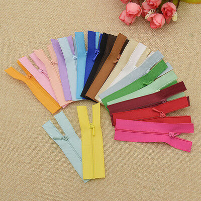 10 Pcs Mini Doll Zippers for Baby Sewing Crafts Tool Doll Dress Bags Accessories