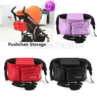 Pram Stroller Buggy Baby Nappy Diaper Changing Pushchair Bag Organiser Handbag