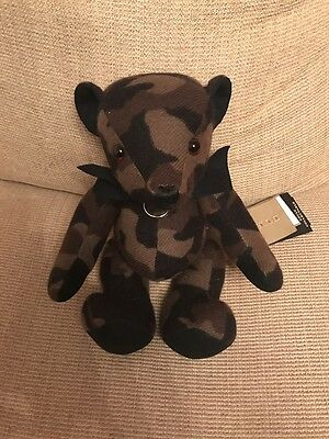 Burberry Thomas Teddy Bear 100% Cashmere Adult Collectible - Brand New With Tags