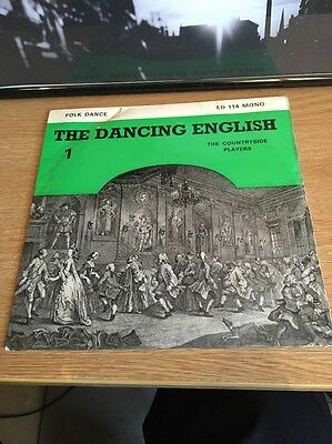 The Country Players. The Dancing English Vinyl Very Rare     No 1