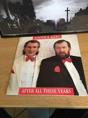 """FOSTER & ALLEN - After All These Years - Excellent Con 7"""" Single Ritz RITZ 106"""